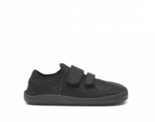 VIVOBAREFOOT  PRIMUS SCHOOL  K LEATHER BLACK Black